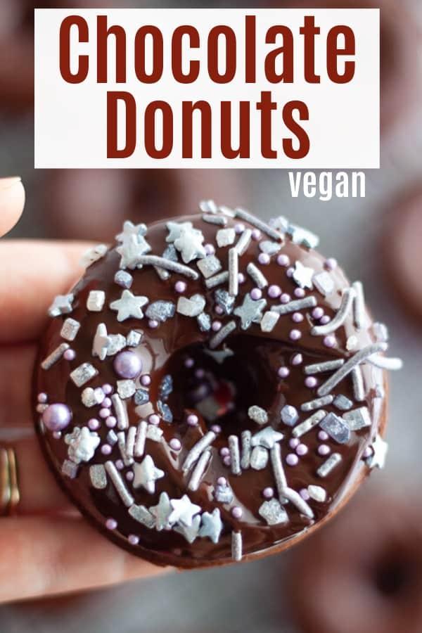Vegan Chocolate Donuts