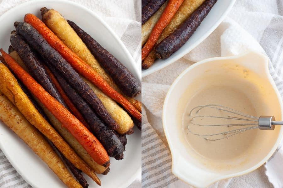 Roasted Carrots Baked