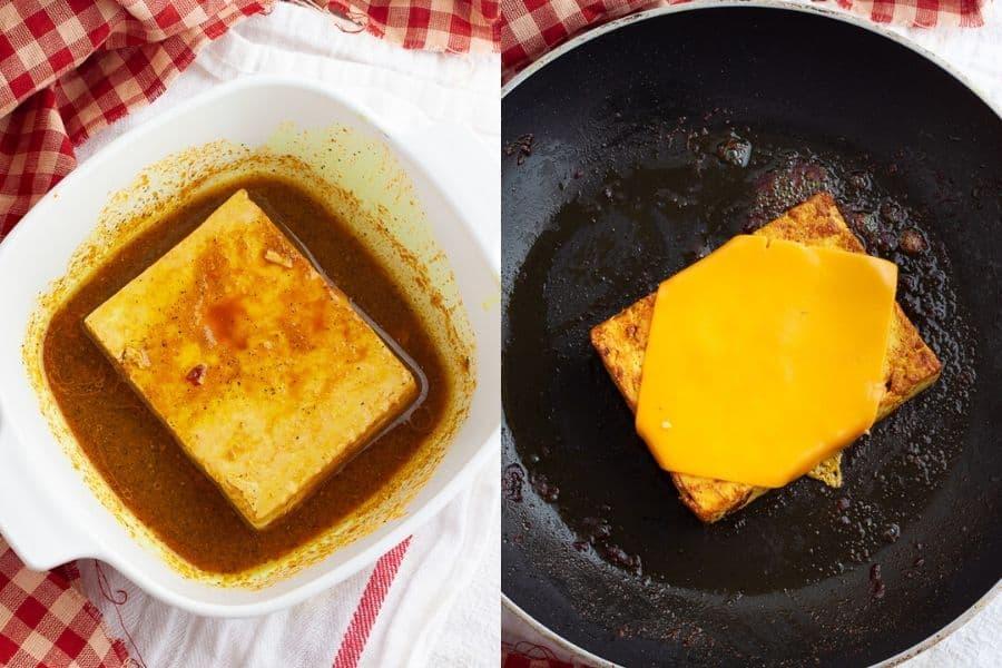Tofu Breakfast Sandwich Patty