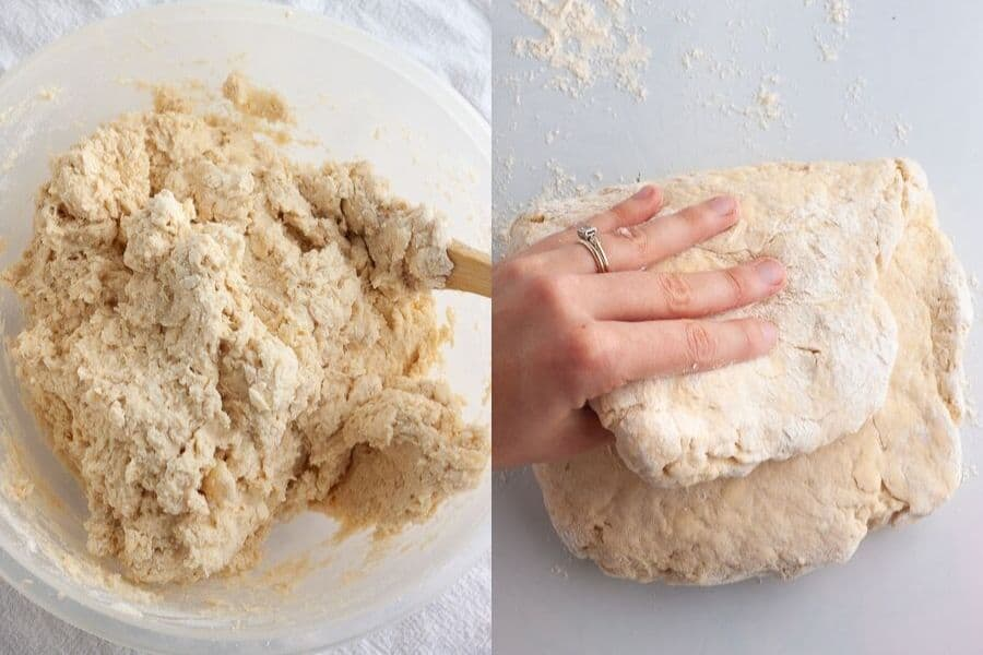 Vegan Buttermilk Biscuits Dough
