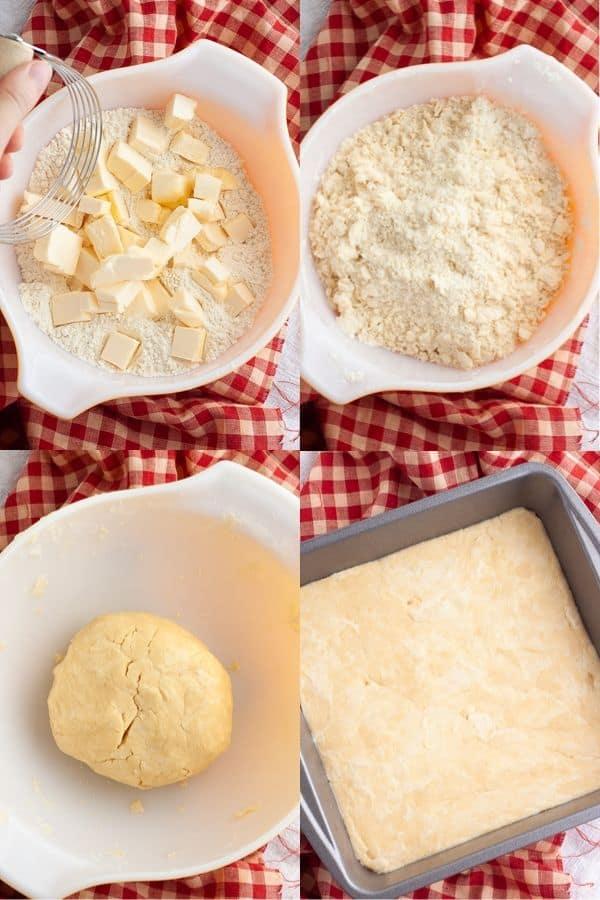 Vegan Pecan Pie Bars Crust