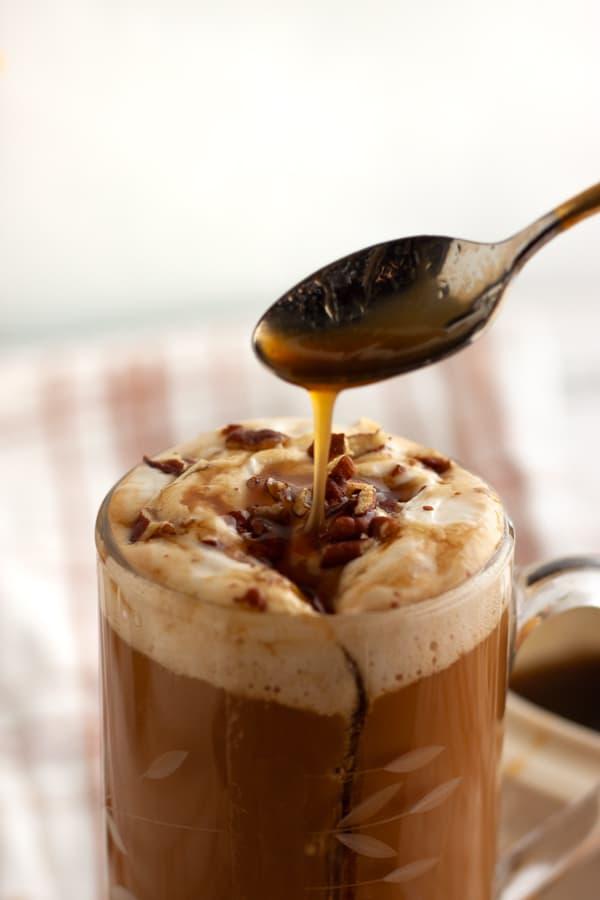 Vegan Caramel Latte