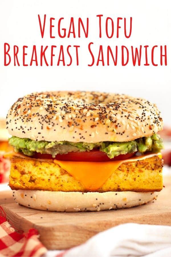 Vegan Tofu Breakfast Sandwich