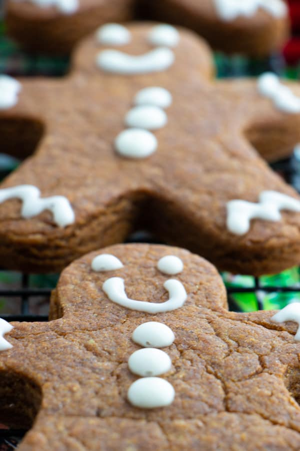 Dairy Free Gingerbread Cookies