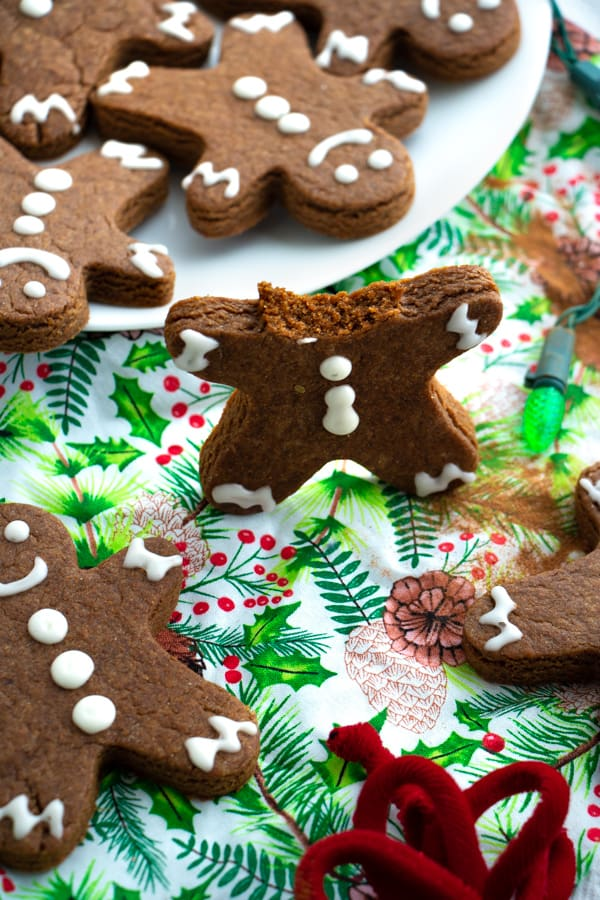 Healthy Gingerbread Men