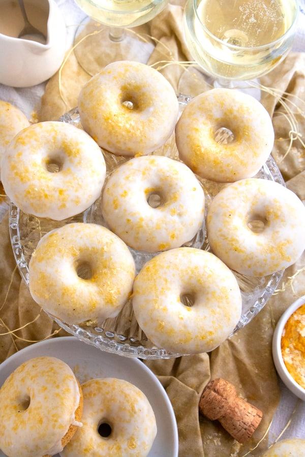 Vegan Champagne Donuts