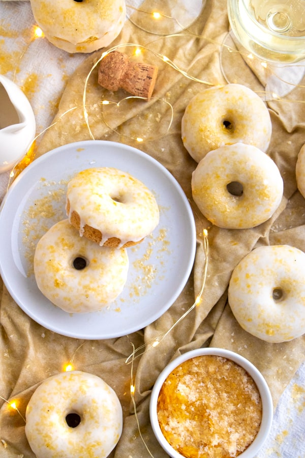 Champagne Donuts Recipe