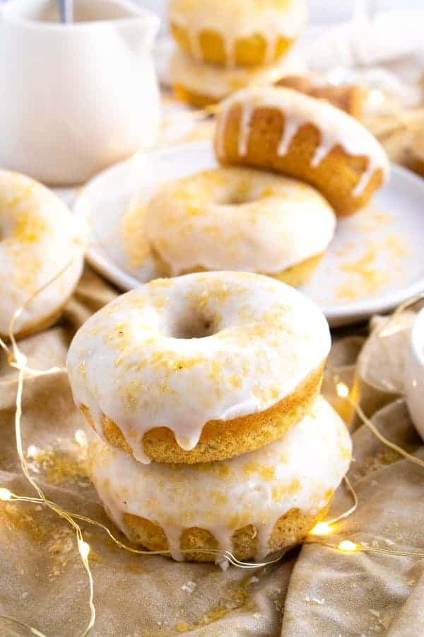Frosted Vegan Donuts