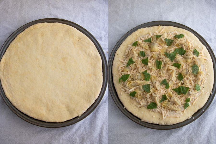 White Pizza Dough