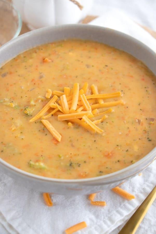 Dairy Free Broccoli Cheddar Soup