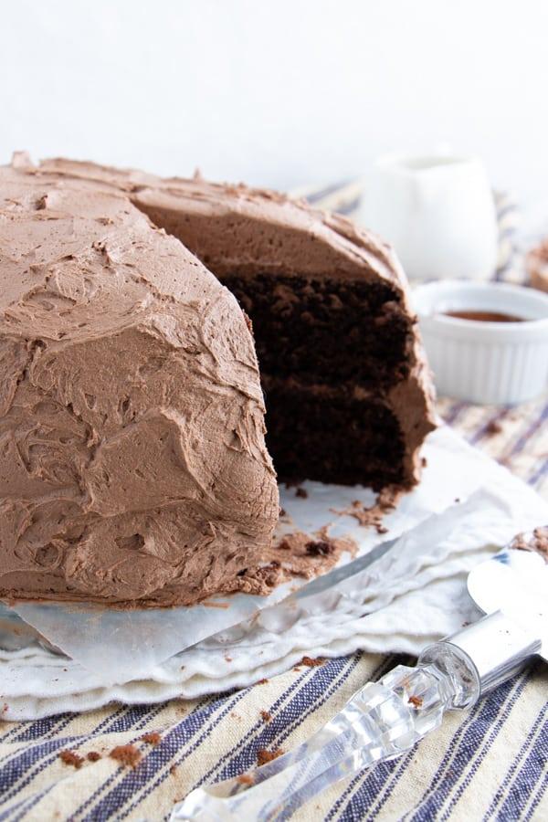 The Best Ever Vegan Chocolate Cake