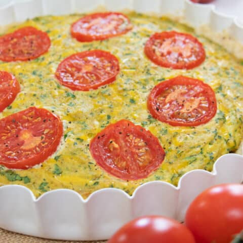 Dairy and Egg Free Quiche