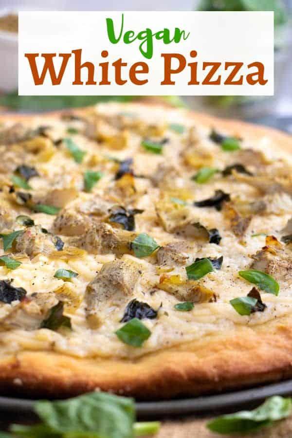 Vegan White PIzza