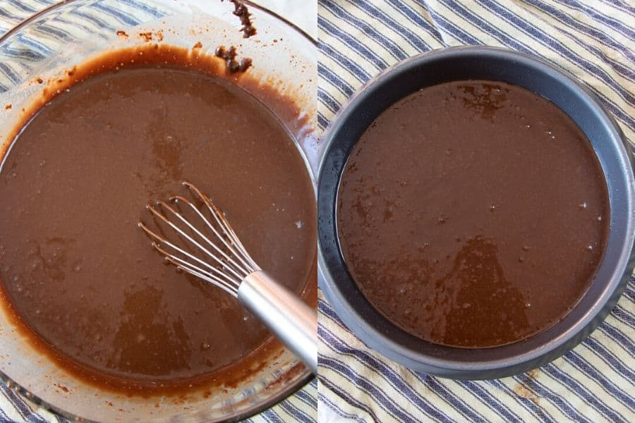 Vegan Chocolate Cake Batter