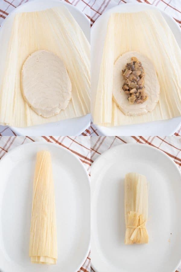 Vegan Corn Husk Tamales