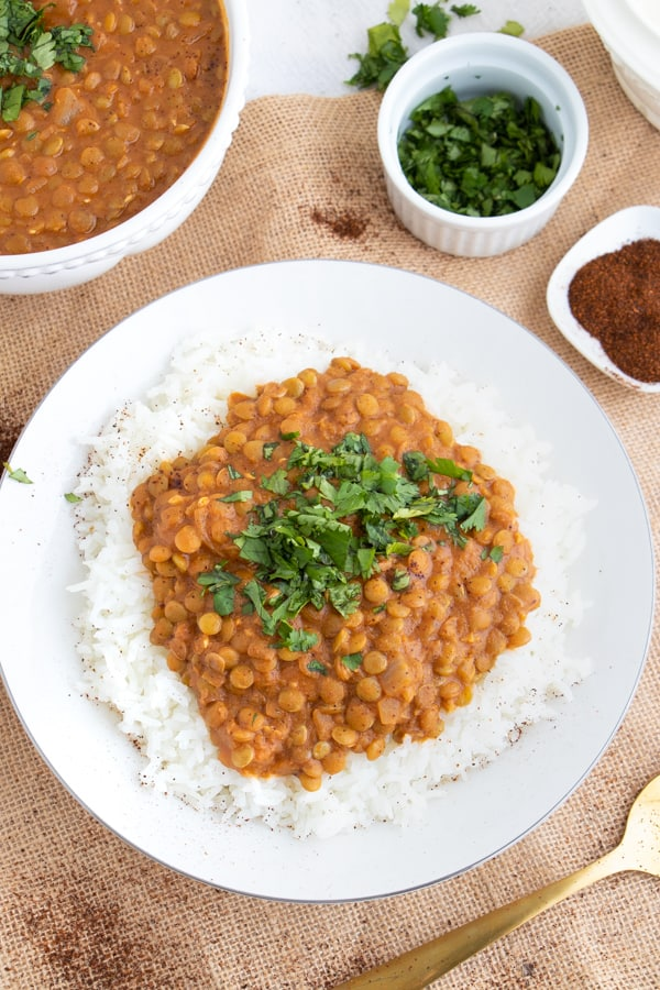 Quick and Easy Lentil Dahl