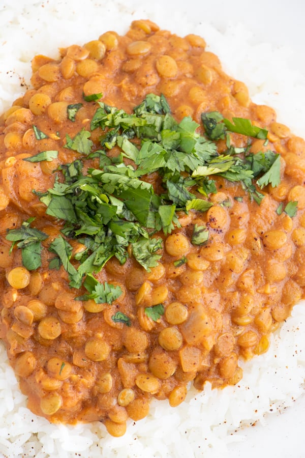 Creamy Indian Lentils