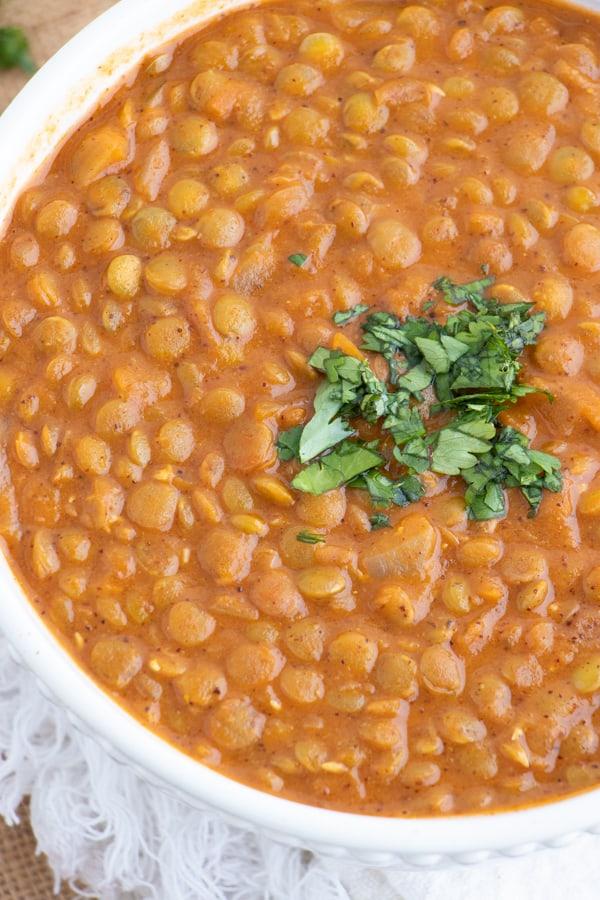 Healthy Vegan Lentils