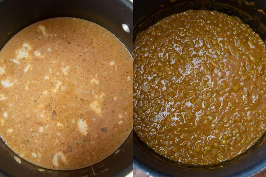Lentil Dahl Cooking