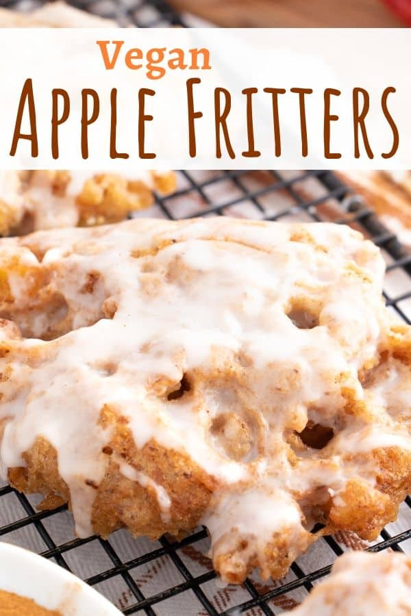 Vegan Apple Fritters