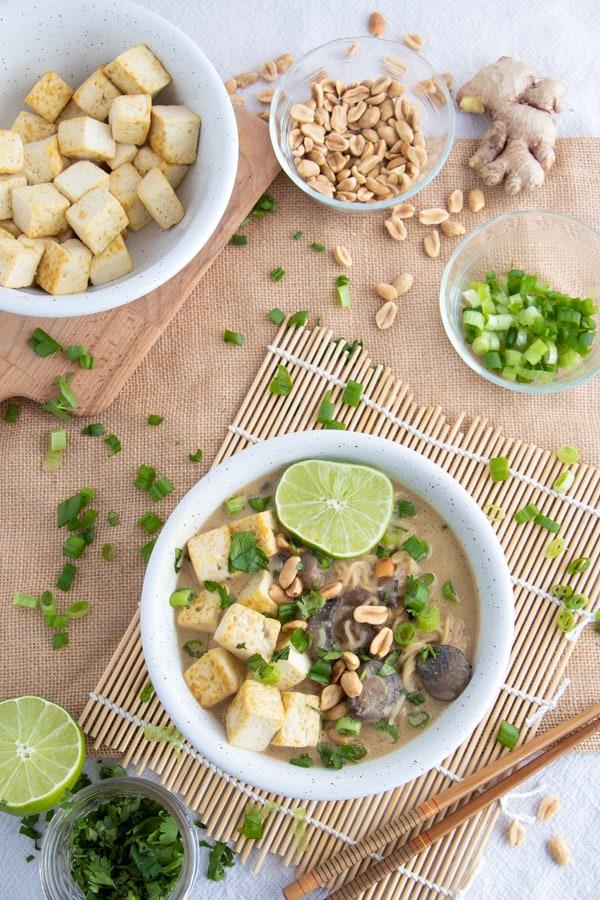 Vegan Ramen Noodle Soup Recipe