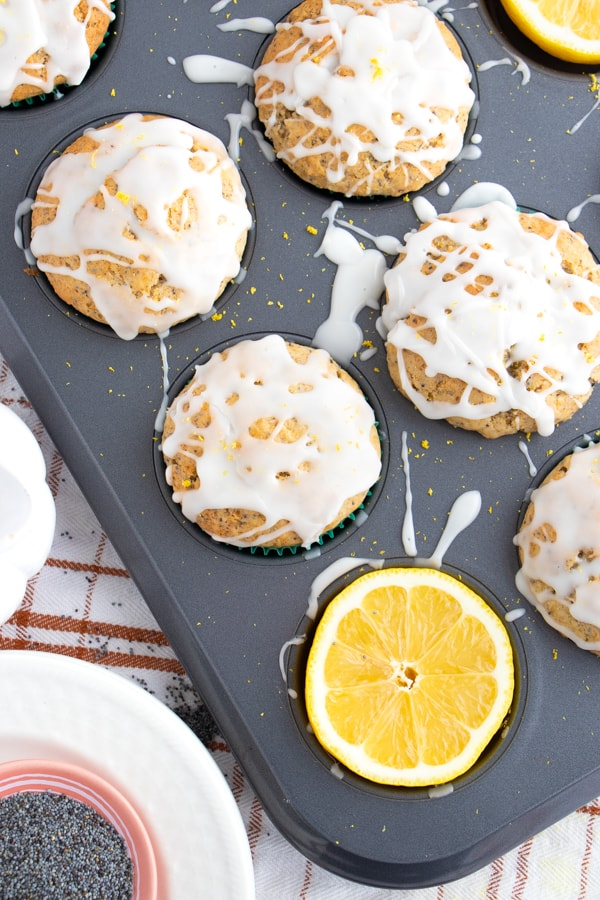 The Best Vegan Lemon Muffins