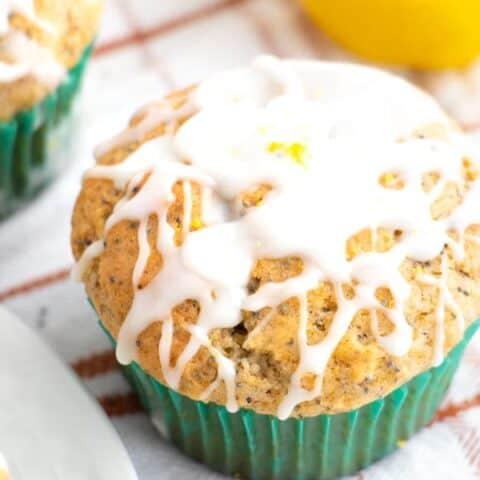 Glazed Breakfast Muffins