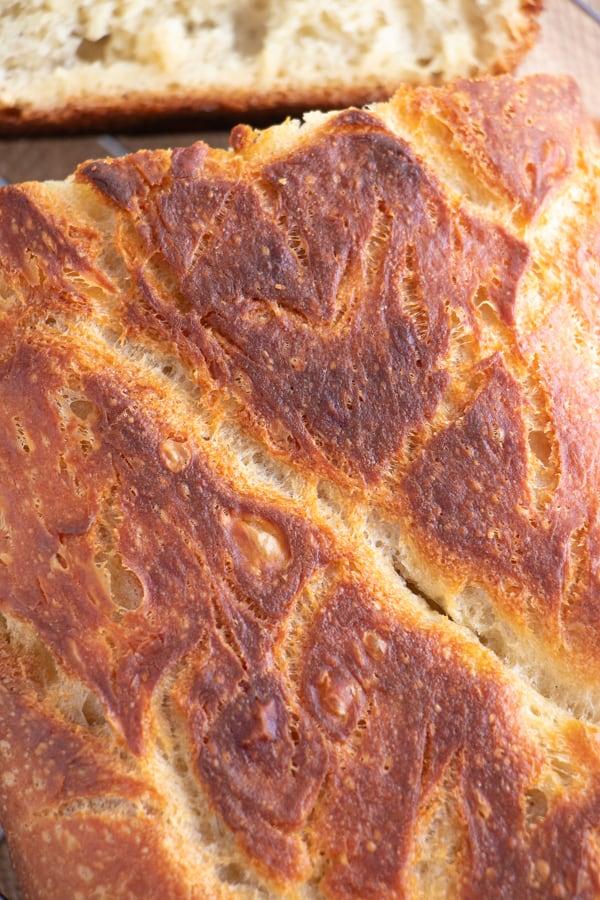 Crispy Homemade Bread