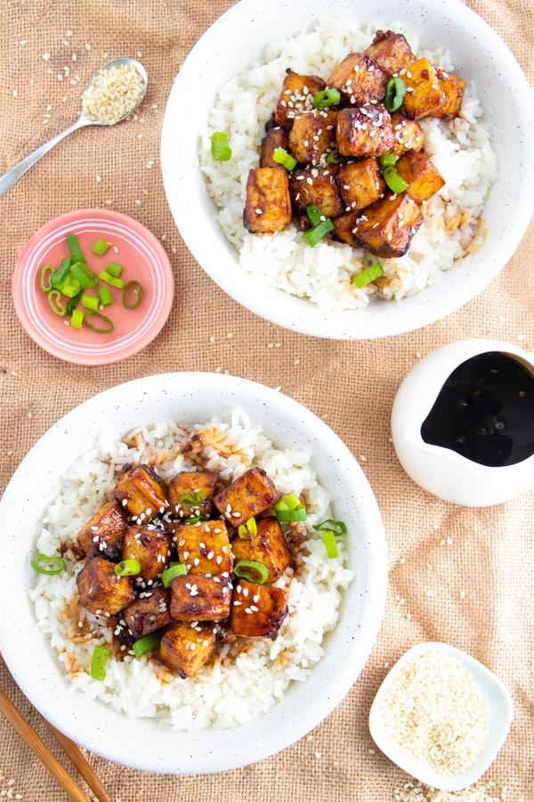 Vegan Teriyaki Tofu