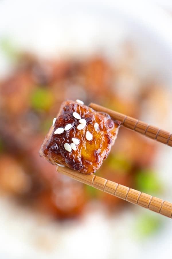 Easy Teriyaki Tofu Recipe