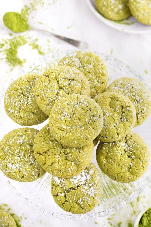 Vegan Green Tea Cookies