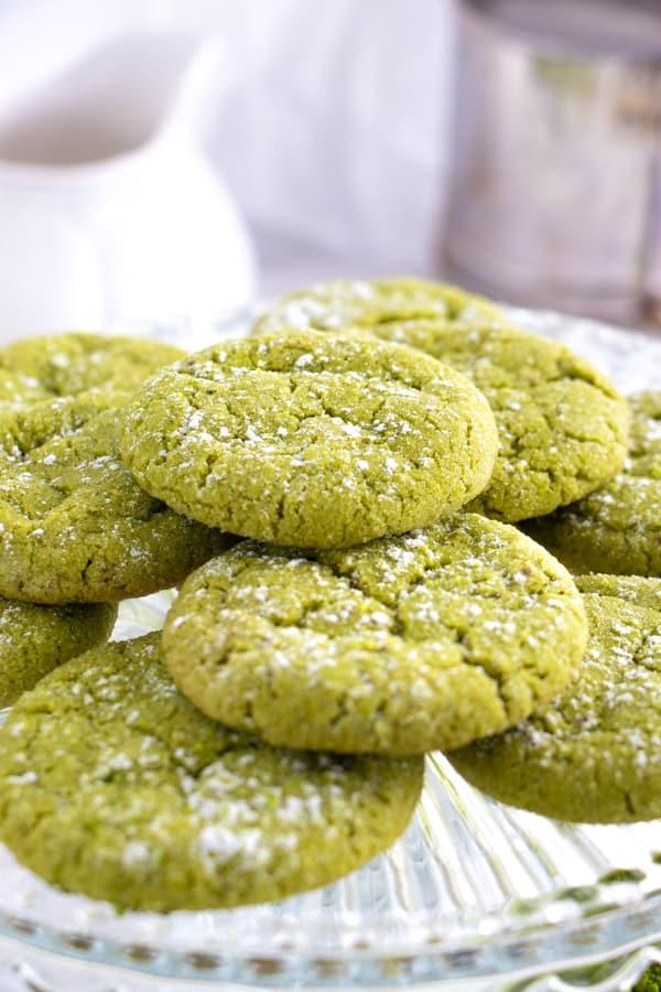 Green Tea Sugar Cookies