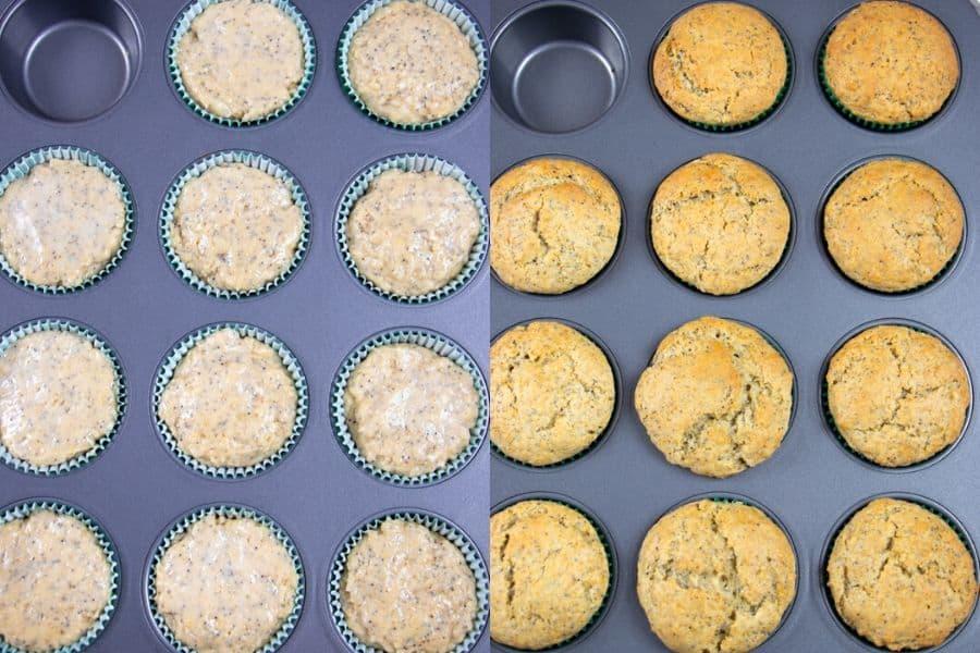 Baked Lemon Muffins