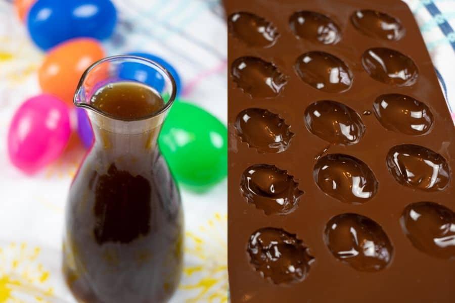 Chocolate Eggs Ingredients