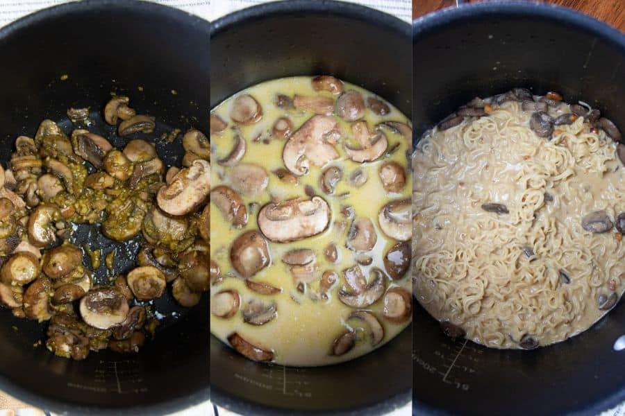 Homemade Vegan Ramen Noodle Soup