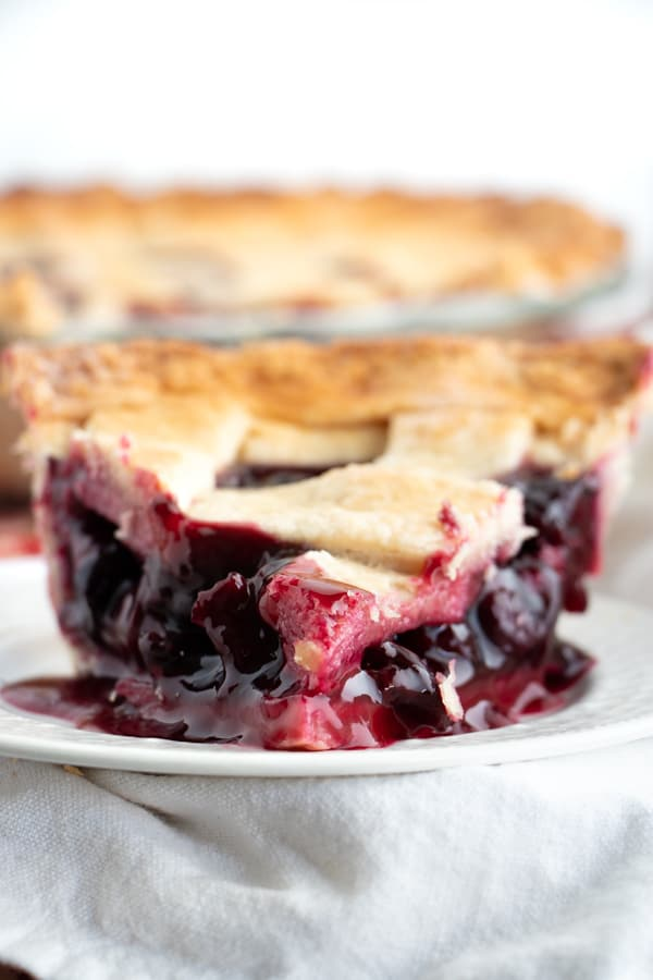 Dairy Free Cherry Pie