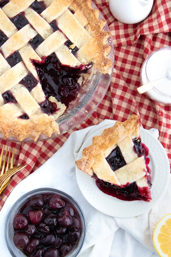 Vegan Cherry Pie Recipe