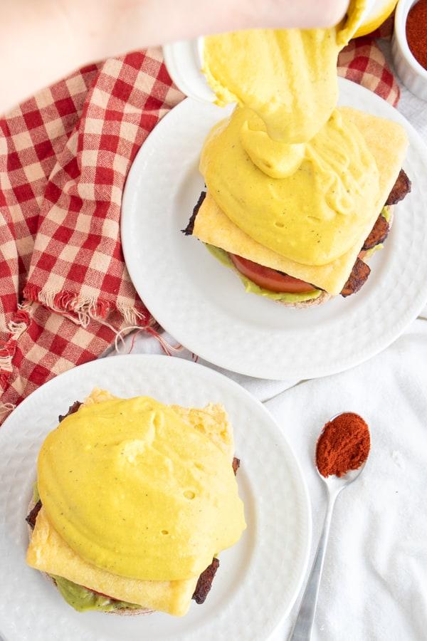 Vegan Egg Breakfast