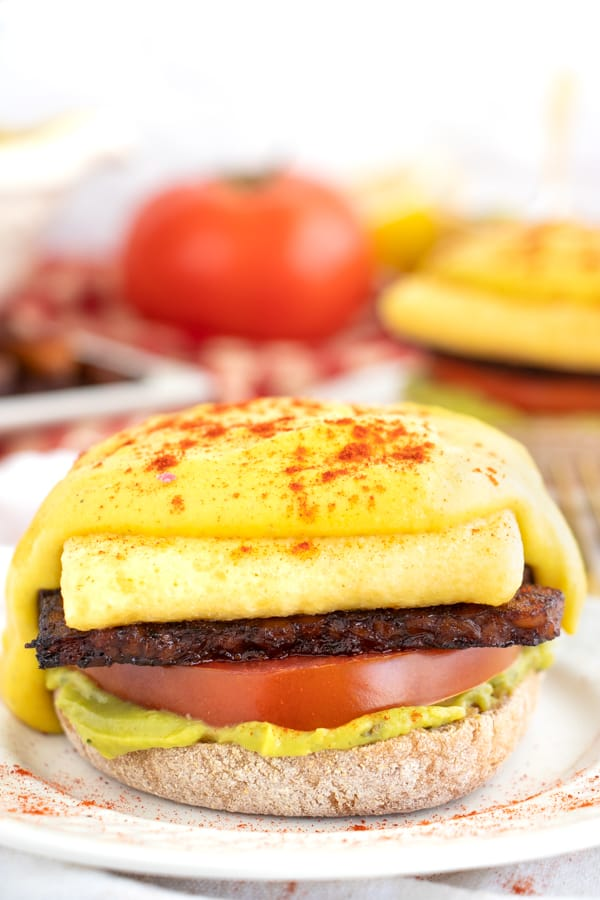 Best Ever Vegan Eggs Benedict