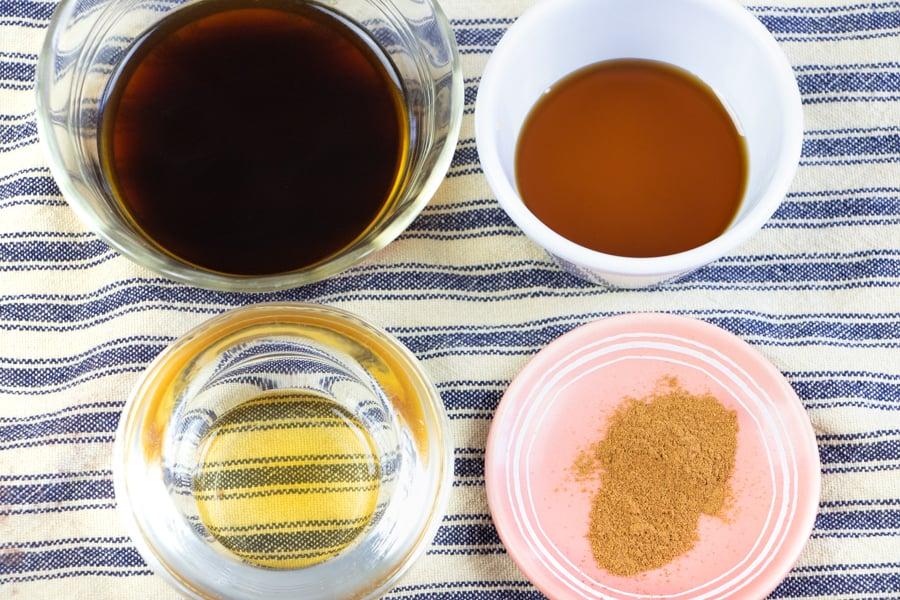 Vegan Cinnamon Latte Ingredients
