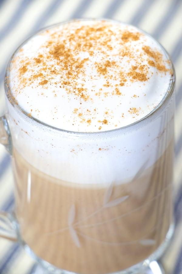 Foamy Vegan Latte