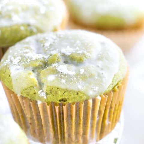 Sweet Matcha Muffins