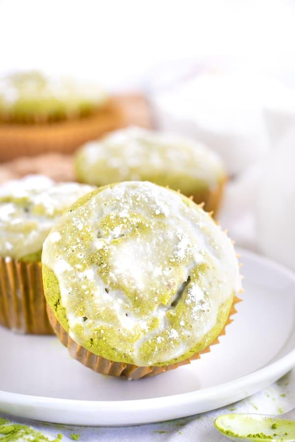 1 Bowl Matcha Muffins