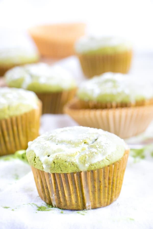 Homemade Matcha Muffins