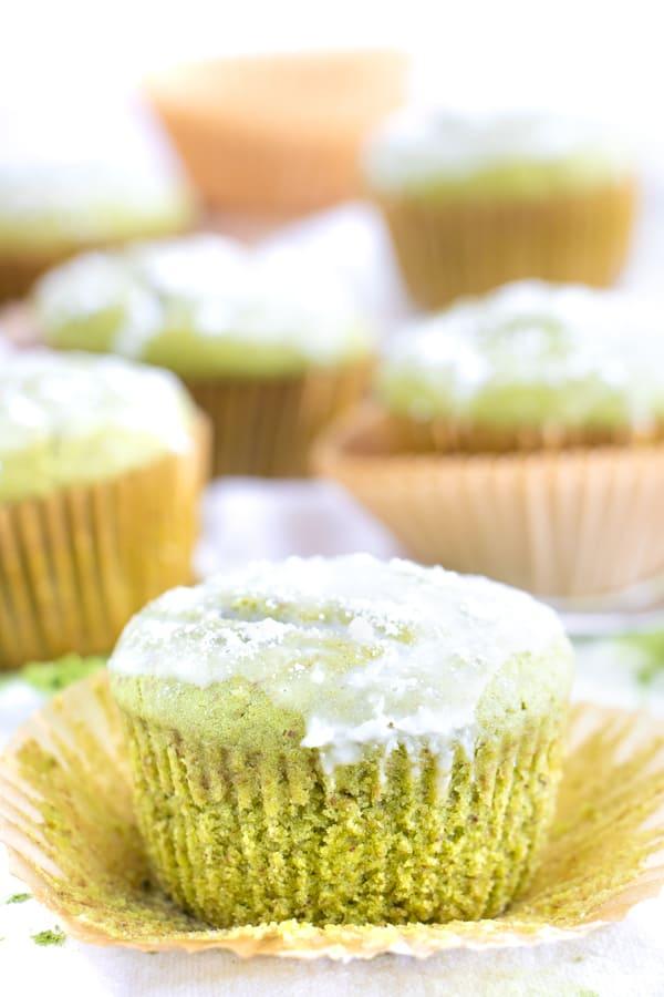 Matcha Lemon Muffins