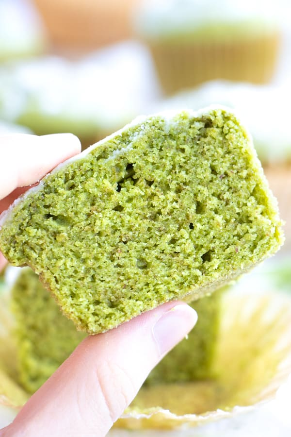 Easy Green Tea Muffins