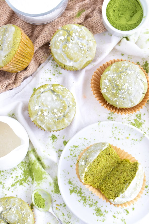 Vegan Matcha Muffin Recipe