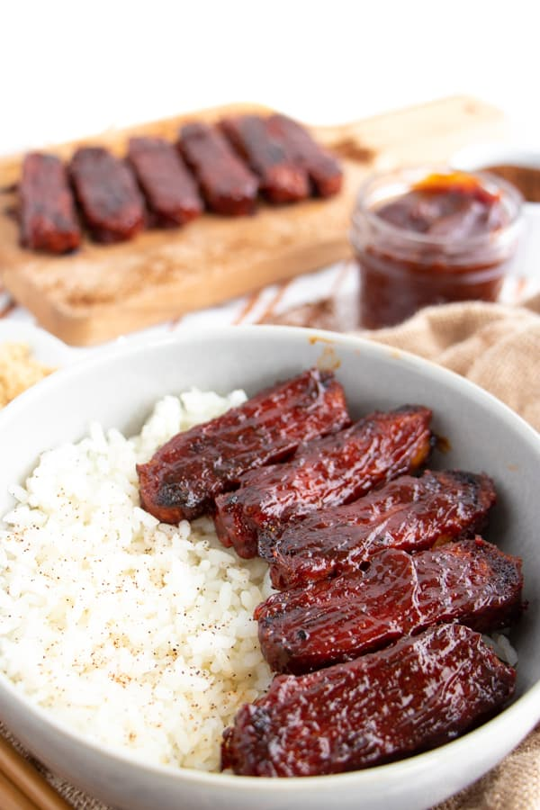 Baked Barbecue Tempeh