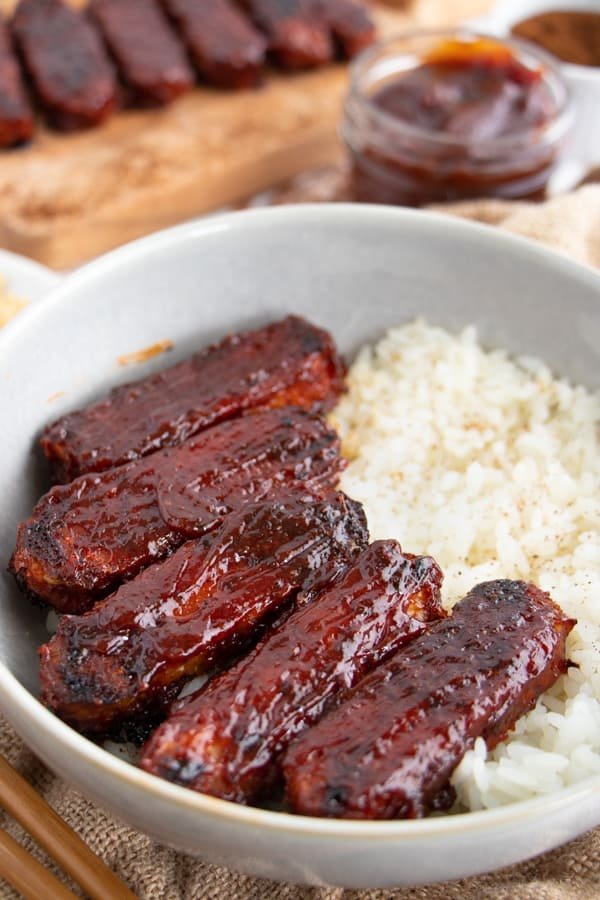 Easy BBQ Tempeh
