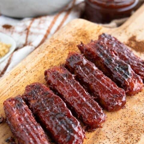 Baked BBQ Tempeh Recipe
